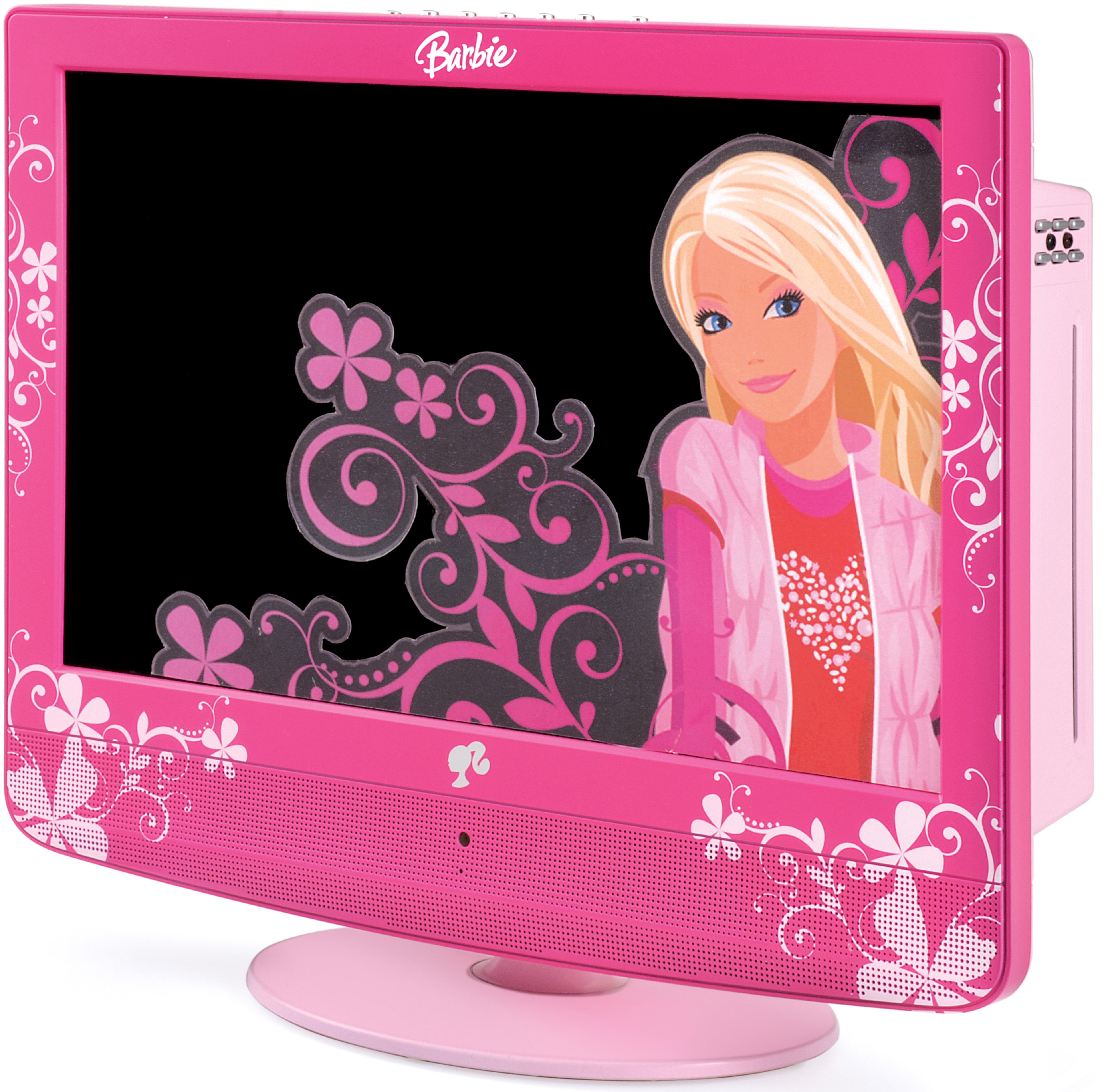 Da Lexibook, TV LCD Barbie con lettore DVD incorporato
