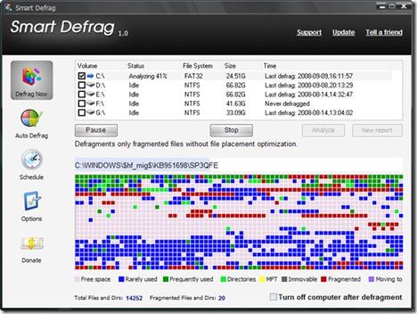 deframmentazione deframmentare windows 8 windows 7