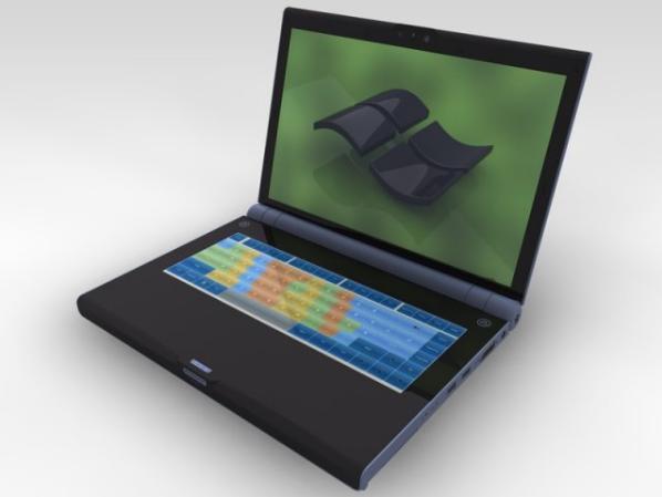 U book doppio schermo per una tastiera virtuale potente e for Produttore di blueprint virtuale