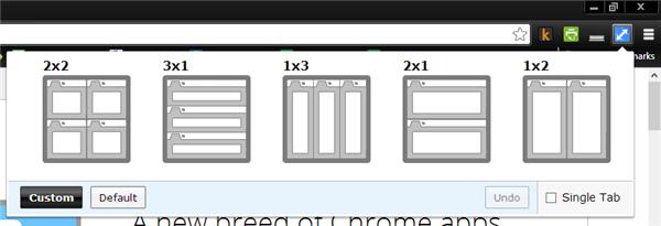 Visualizzare più pagine di Google Chrome affiancate, con Tab