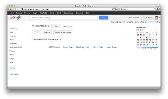 navigare navigazione anonima cancellare cronologia google chrome firefox