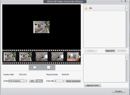 creazione slideshow